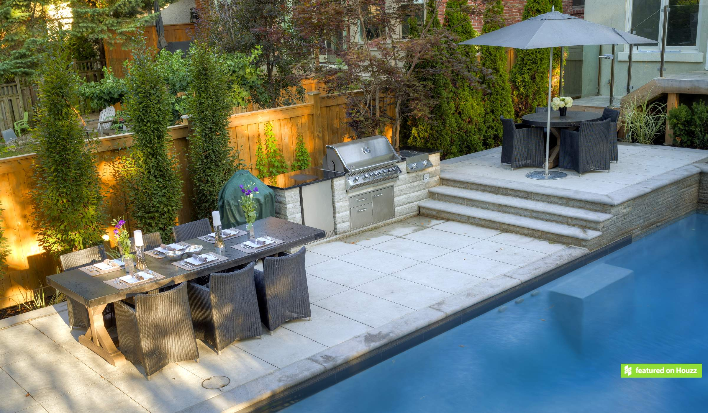 Family Fun In A Gently Sloping Yard Betz Pools